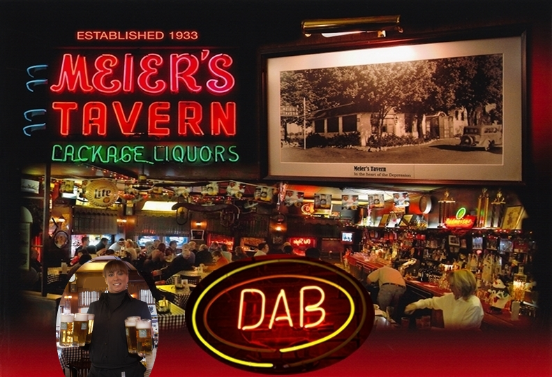 Meier's Tavern Indoor photo collage